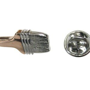 Two Toned Painters Brush Lapel Pin